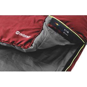 Outwell Campion - Sacos de dormir Niños - rojo